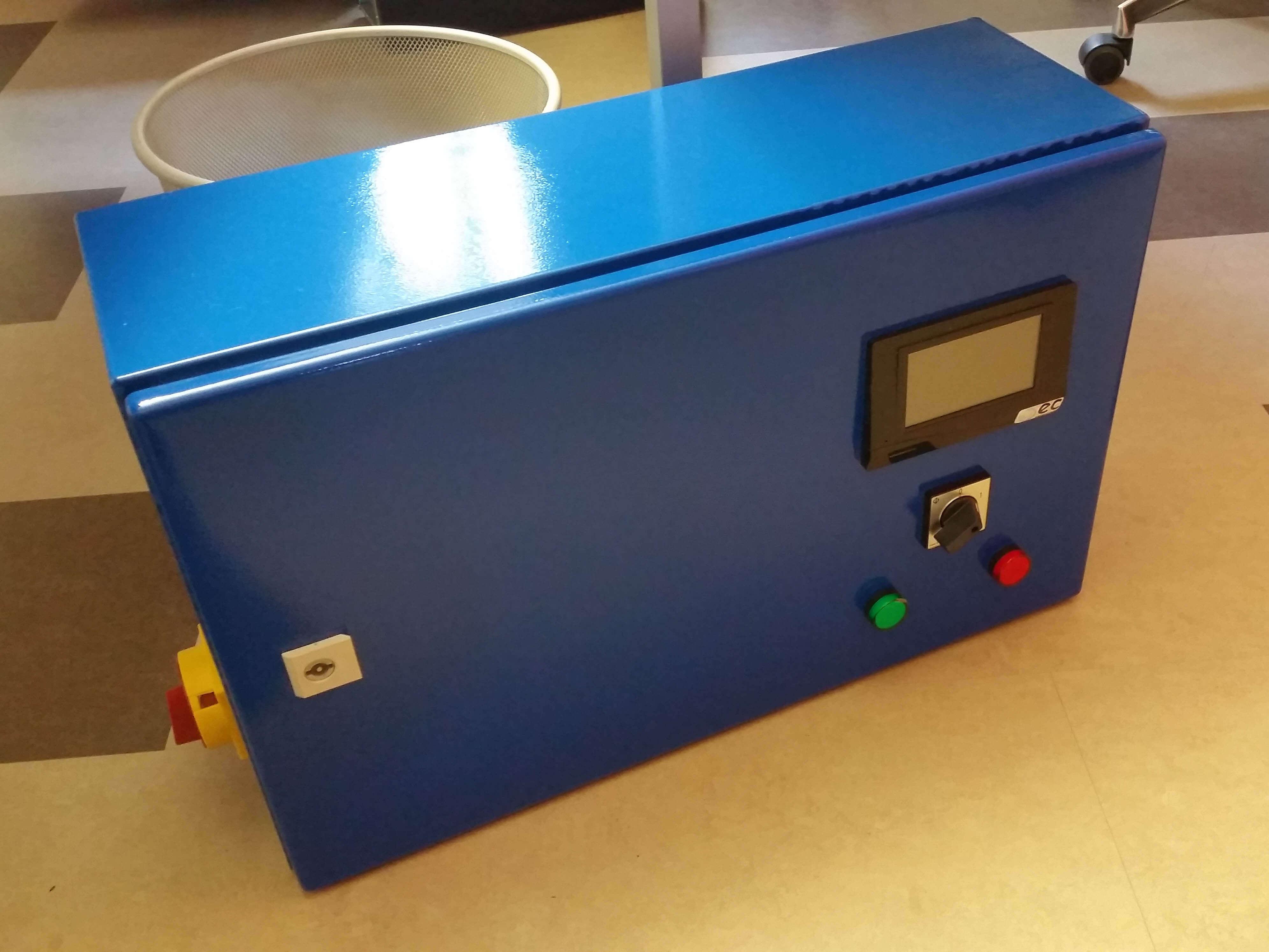 EC700 Regler blau energy-concept