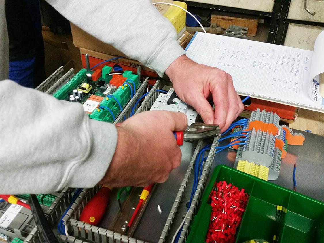 Elektrik EC 700 Regler