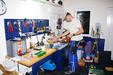EC700 Regler Hauseigene Fertigung